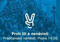 Proti lži a nenávisti - Praha