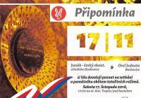 Připomínka 17. listopadu - Boskovice