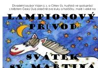 Svatomartinský lampionový průvod - Český Dub