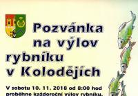 Výlov rybníka - Praha Koloděje