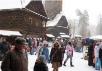 Vánoční jarmark - Valašské muzeum v přírodě Rožnov pod Radhoštěm