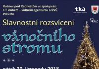 Rozsvícení vánočního stromu - Rožnov pod Radhoštěm
