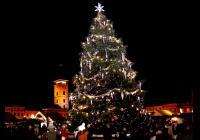 Rozsvícení vánočního stromu - České Budějovice