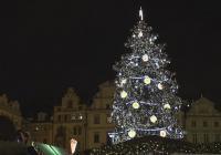 Rozsvícení vánočního stromu na Staroměstském náměstí v Praze