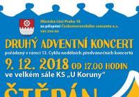 Adventní koncert - Štěpán Rak Praha Radotín
