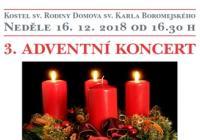 3. Adventní koncert - Praha Řepy