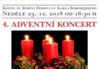 4. Adventní koncert - Praha Řepy