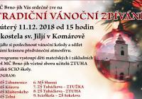 Vánoční zpívání - Brno Komárov