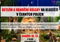 Betlém a vánoční koledy na kluzišti v Černých Polích - Brno