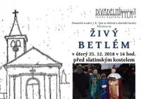 Živý betlém - Brno Slatina