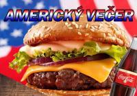 Americký večer - Burger dvouručák