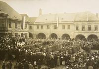 28. říjen 1918 v Pardubickém kraji