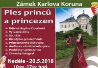 Ples princů a princezen na zámku Karlova Koruna