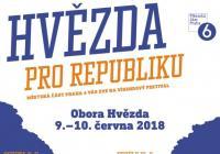 Hvězda pro republiku - Obora Hvězda Praha