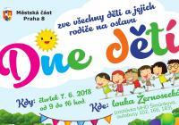 Den dětí - louka Žernosecká Praha