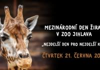 Mezinárodní den žiraf - Zoo Jihlava