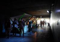 Zažít město jinak - Podchod pod Hlávkovým mostem Praha
