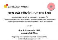 Den válečných veteránů na náměstí Míru v Praze
