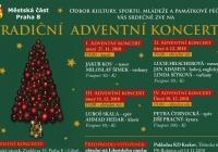 Adventní koncerty - Libeňský zámek