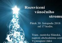 Rozsvícení vánočního stromu - Praha Řepy