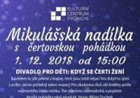Mikulášská nadílka - Kulturní centrum Průhon Praha