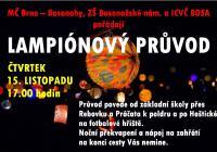Lampionový průvod - Brno Bosonohy