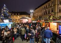 Rozsvícení vánočního stromu - Brno Zelný Trh