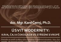 Úsvit modernity: káva, čaj a čokoláda ve střední Evropě - Karel Černý