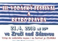 III. Vodácký festival a retro plavba