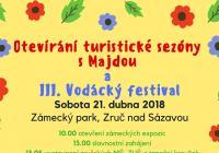 Otevírání turistické sezóny s Majdou a III. Vodácký festival