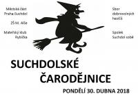 Pálení čarodějnic - Praha Suchdol
