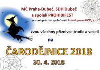 Pálení čarodějnic - Praha Dubeč