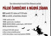 Pálení čarodějnic - Brno Bohunice