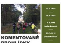 Komentované prohlídky zámeckého parku Měšice