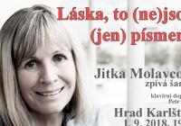 Jitka Molavcová na Karlštejně