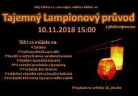 Tajemný lampionový průvod s překvapením - Břeclav Charvátská Nová Ves
