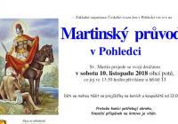 Martinský průvod v Pohledci - Nové Město na Moravě