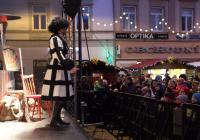 Čertovský karneval na náměstí v Opavě