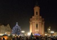 Rozsvícení vánočního stromu - Hranice