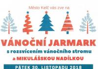 Rozsvícení vánočního stromu s Mikulášem - Kelč