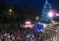 Rozsvícení vánočního stromu - Chvaletice