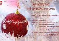 Rozsvícení vánočního stromu - Seč