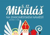 Mikuláš na náměstí Mladá Boleslav