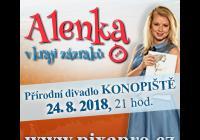 Alenka v kraji zázraků - muzikál - Přírodní amfiteátr Konopiště