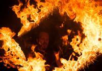 Velká ohňová show - Šikland Zvole nad Pernštejnem