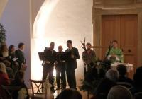 Hubertské slavnosti na zámku Plumlov