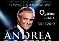 Andrea Bocelli v Praze 2019