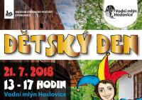 Den dětí - Vodní mlýn Hoslovice