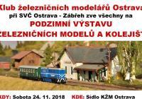 Podzimní výstava železničních modelů