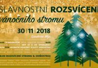 Rozsvícení vánočního stromu - Špindlerův Mlýn